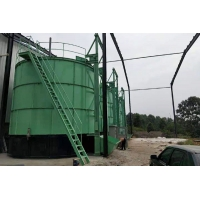 China Latest 10m³ Height 11m Chicken Manure Fermentation Equipment wholesale