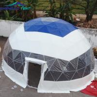 China 8m PVC Top Half Sphere Clear Dome Tent for Outdoor Event / Party / Wedding wholesale