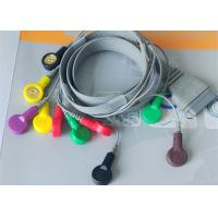 Buy cheap 10 Leads ECG Monitor Cable For Hospital Medical Care BI holter Recorder from wholesalers