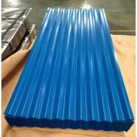 Buy cheap Color coated Corrugated Roofing Sheets Steel Building Roof Tiles PPGI Roofing from wholesalers