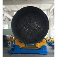 China Large Rotary Capacity Automatic Rotator For Silo Tank Welding Production wholesale
