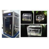 China Kiosk Camera 3D Glass Crystal Laser Engraving Machine 3W Laser Powered wholesale