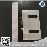 China T10 / SKD11 Plastic Granulator Blades Crusher Wear Parts Excellent Cutting wholesale
