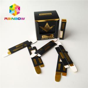 China Paper Herbal Incense Packaging 510 Ceramic Vape Tank Cbd Oil Cartridge Packaging Box on sale