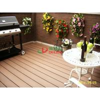 Buy cheap garden wpc decking floor anti-slip,wood plastic flooring with long lifespan 20 years from wholesalers
