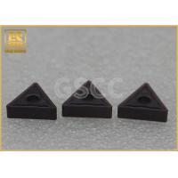 China Virgin Material Indexable Carbide Inserts / Tungsten Carbide Ccmt Insert wholesale