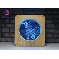 China Deco 3D LED Illusion Lamps USB Charge Remote Controller USB Cable Touch Screen wholesale