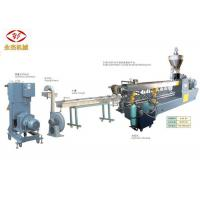 China PET Bottle Recycling PET Pelletizing Line With Screw Feeding Machine 400kg/H wholesale