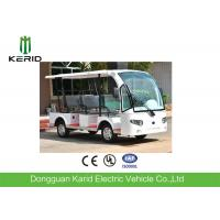 Buy cheap 3 Rows Safa Seats Small Electric Shuttle Bus With MP3 Player Alloy Rim For Hotel from wholesalers