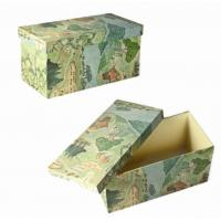 China Cardboard Storage Boxes With Lids on sale