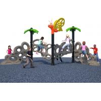 China Plasitc Climbers Freestanding Playground Equipment Kids Free Standing Slide CE Certification wholesale