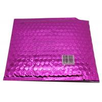 Buy cheap Waterproof Pink Metallic Bubble Mailers Large Volume Puncture Resistant from wholesalers