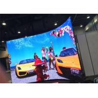 China P3.91 Die cast Aluminum advertising led display board / In door commercial led screens wholesale
