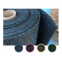 China Accessories For Gym Workout Use , Shock Absorbing Noise Reduction Rubber Flooring on sale