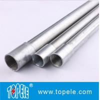China Galvanized Steel BS4568 Conduit / GI PIPE / Electrical Conductors wholesale