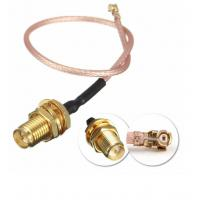 China DC To 6GHz Coaxial Cable Connectors , RG316 Waterproof Sma Connector wholesale