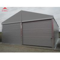 China Water Proof 10m Industrial Storage Tents Max Wind Speed Allowance 70 - 100km/H wholesale