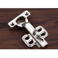 China Close Tail Cabinet Door Hinges Four Holes 26mm Cup Nickel Plated wholesale