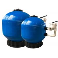 China Fiberglass Swimming Pool Side Mount Sand Filter For Swimming Pool Water Filtration wholesale
