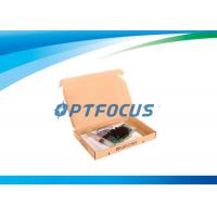 Buy cheap 10Gbps Optical Fiber Network Card Single Port SFP Slot LC Fiber 10km from wholesalers