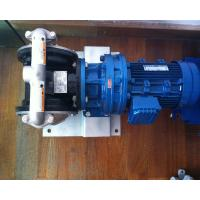 China Electric MOTOR  Operated Diaphragm pump wholesale