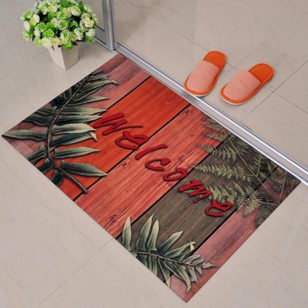 Custom Surface Flooring: Fabric Surface Kids Rubber Floor Carpet Customized Shape