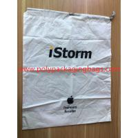 China Simple and elegant white cpe rope bag for general purpose packaging wholesale