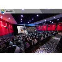 China Amusment Park Special Effects Electric Movie Theater Motion Seats 7D 9D 12D XD Cinema wholesale