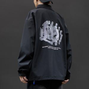 China Leather Sleeve Sports Men Letterman Jacket Anti UV Breathable wholesale