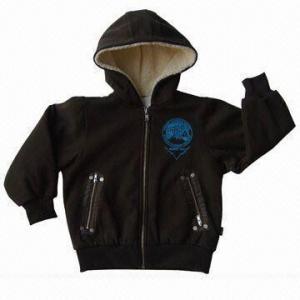 China Comfortable Winter Jacket with Fake Lamb Skin Lining on sale
