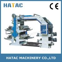 Buy cheap Wallpaper Printing Machine,High Speed Paper Roll Printing Machinery,Central Drum from wholesalers