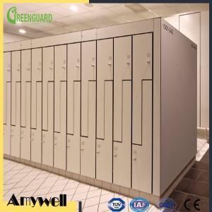 China Amywell factory customized waterproof solid phenolic compact HPL locker wholesale