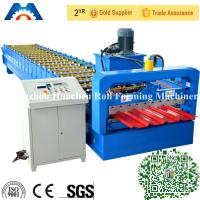 China Steel Building IBR Roofing Sheet Cold Roll Forming Machine 19 rows wholesale