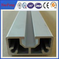 China custom aluminum extrusions with natural anodizing, aluminum extrusion shapes on sale