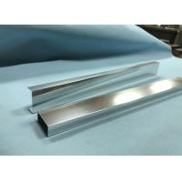 China Alloy 6463 6063 Aluminium Shower Profiles Shower Room Track For Decorations wholesale