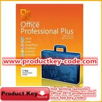 China Microsoft Office Product Key Codes, Hot selling Office 2010 Professional Plus FPP Key wholesale