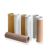China Customized Singeing High Temperature Aramid PPS Dust Collector Filter Bag wholesale
