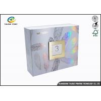 China Newly Design Folding Gift Boxes Charming Silver Printing Easy Disassembled wholesale