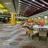 China Axminster Banquet Hall Carpet 80% Wool 20% Nylon Antistatic Feature wholesale