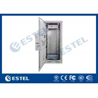 China Outdoor Rack Mount Enclosure Street Cabinets Telecoms For Transmission Switching Station wholesale