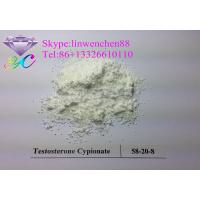 China Muscle building Testosterone powder 99% Testosterone Cypionate 58-20-8 white powder Canada USA Shipping wholesale