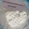 China Muscle Building Oral Turinabol 4- Chlorodehydromethyltestosterone Powder 2446-23-3 wholesale
