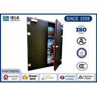 China Long Life Black Insulated Fire Door For Large - Scale Shopping Malls wholesale