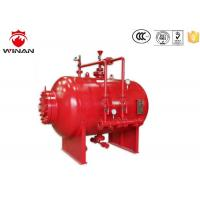 China Bladder Tank Foam Proportioning Machine 3% 6% Carbon Steel Red For Firefighting wholesale
