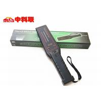 China On / Off Switch Control Hand Held Security Metal Detectors 295X24X68mm Black Color on sale