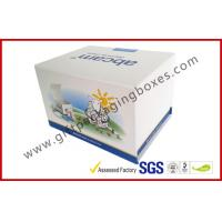 China Fashion Coated Paper Board Box, Rectangle Printed Rigid Gift Boxes For With Custom Logo wholesale