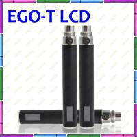 China Ego T E Cigarette Huge Capacity 1100mAh EGo T Lcd Battery E Cigarette With LCD Display on sale
