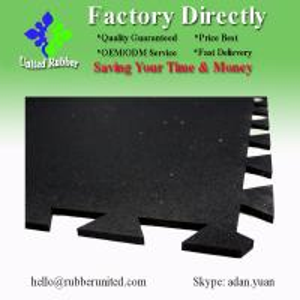 China Cheap Interlockinhg Rubber Floor Mats, Commercial Rubber Mats on sale