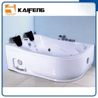 China Customized Color Bathroom Jacuzzi Tub Shower Combo Hydromassage Tub With Loud Speaker wholesale