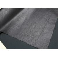 China Soft PU Synthetic Leather 0.65 Mm Thickness 280 Gsm For Making Jacket Shoes on sale